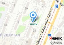 Компания «РТА телеком» на карте