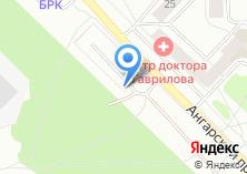 Компания «Автостоянка на ул. Алёшина» на карте