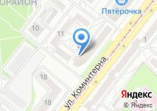 Компания «Паутина» на карте