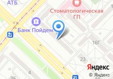 Компания «Адвокатский кабинет Уфимцева Д.В» на карте