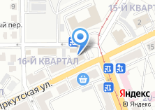 Компания «Байкальский газобетон» на карте