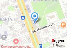 Компания «MaxPrint» на карте