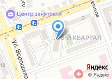 Компания «Карапуз сеть салонов детских товаров» на карте