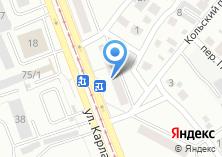 Компания «Техносервис» на карте