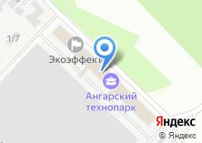 Компания «Ангарский технопарк» на карте