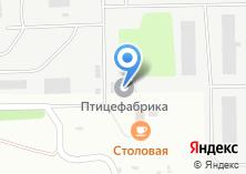 Компания «Ангарская птицефабрика» на карте