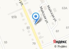 Компания «Мегет» на карте