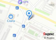 Компания «Сеть киосков по продаже мороженого» на карте