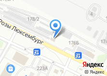 Компания «Удобный» на карте