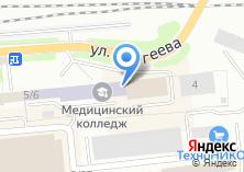 Компания «САПЭУ Сибирская академия права» на карте