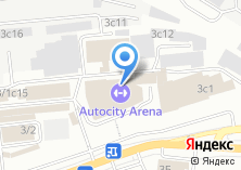 Компания «АвтоСити на Сергеевском» на карте