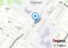 Компания «Строящийся жилой дом по ул. Алмазная» на карте