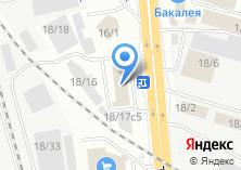 Компания «Шоколадные лакомства» на карте