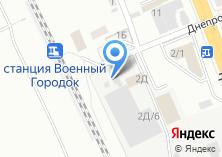 Компания «Рубеж+» на карте