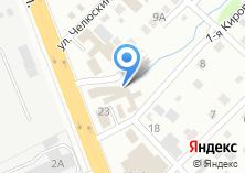 Компания «РадаПринт» на карте
