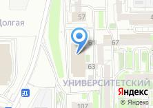 Компания «Окей сеть гипермаркетов» на карте