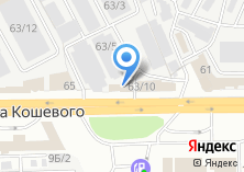 Компания «Иркутская шиномонтажная мастерская» на карте