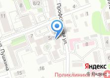 Компания «Танадук» на карте
