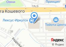 Компания «Строящееся административное здание по ул. Олега Кошевого» на карте