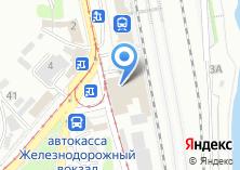 Компания «Восточно-Сибирское железнодорожное агентство» на карте