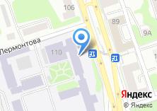Компания «Восточно-Сибирский институт МВД РФ» на карте