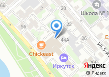 Компания «Клиника Байкал-медикл» на карте