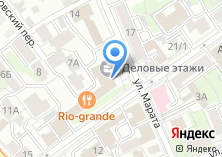 Компания «Управление федеральной антимонопольной службы по Иркутской области» на карте