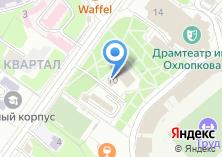 Компания «Евраз» на карте