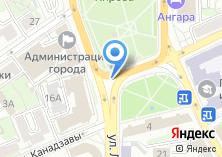 Компания «БИЗНЕС-ПЛАН В ИРКУТСКЕ» на карте