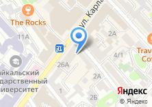 Компания «Агентство по туризму Иркутской области» на карте