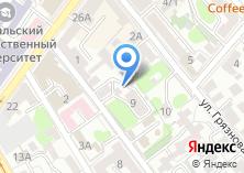 Компания «Сибирские Финансы» на карте