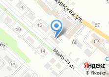 Компания «КРОСТ» на карте
