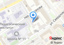 Компания «Управление Федеральной почтовой связи Иркутской области» на карте