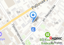 Компания «Моя карта» на карте