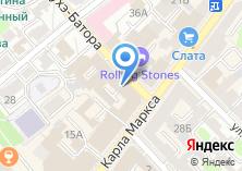Компания «ЮСТТЕРРА» на карте