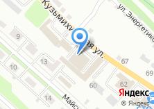 Компания «Автосервис Байкал» на карте
