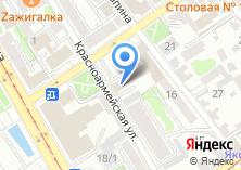 Компания «Аверф Тур» на карте