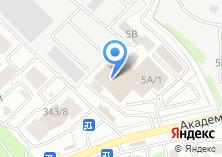 Компания «Автоджин38» на карте