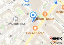 Компания «Табакерка» на карте