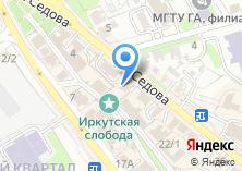 Компания «СибСервис» на карте