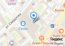 Компания «Evently» на карте
