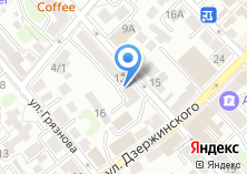 Компания «Окнофф» на карте