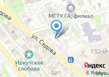 Компания «Министерство культуры и архивов Иркутской области» на карте