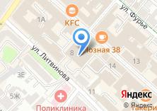 Компания «Ластик» на карте