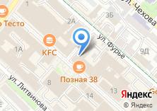 Компания «Maxim» на карте