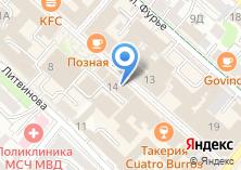 Компания «Евросеть-Ритейл сеть салонов связи» на карте