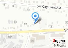 Компания «Приток» на карте