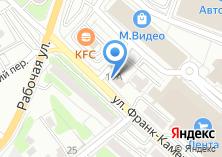 Компания «Автомобильные Стекла Сибири» на карте