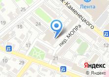 Компания «Акцент» на карте
