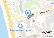 Компания «Упакторг» на карте
